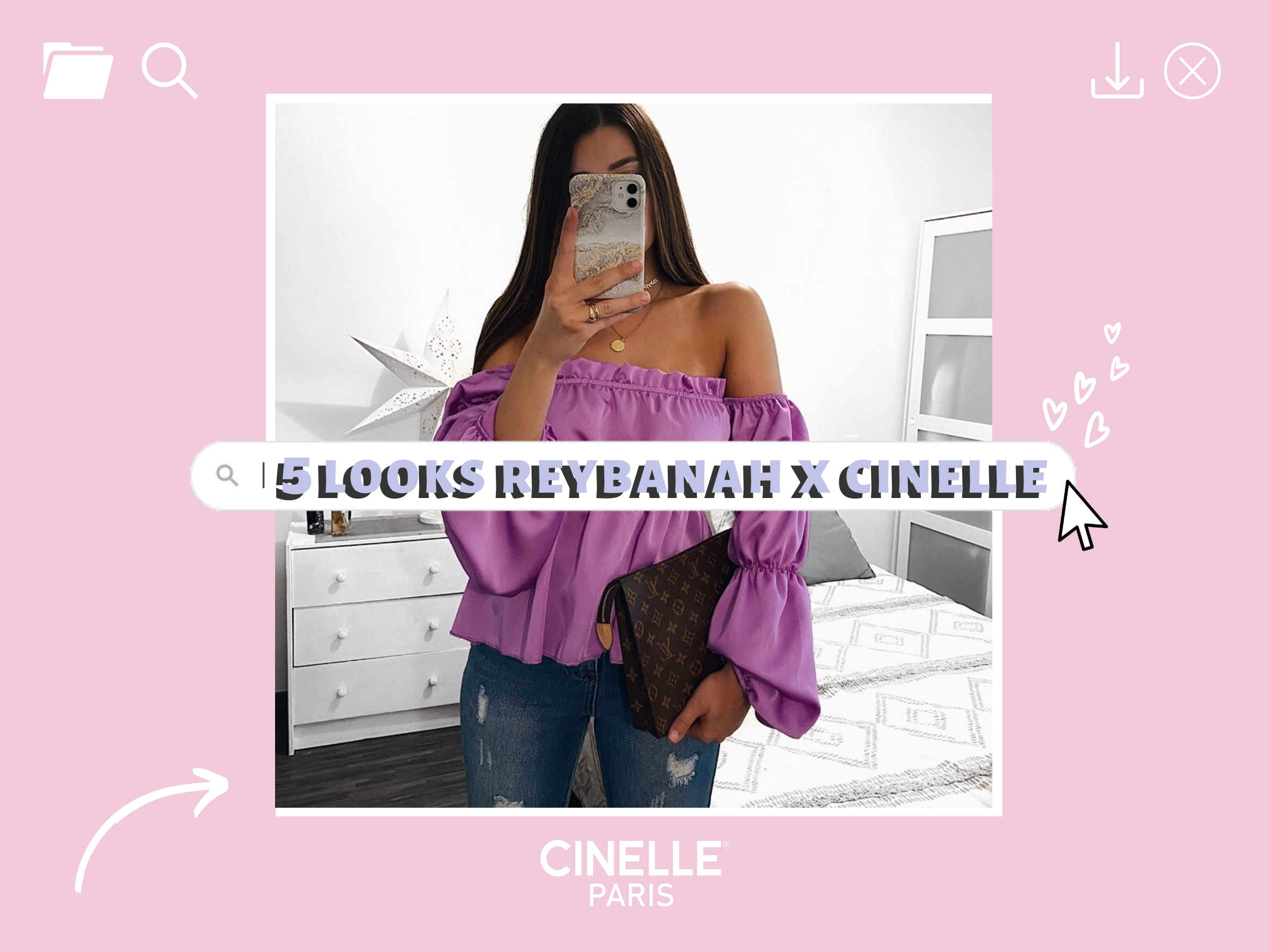 Looks Reybanah X Cinelle